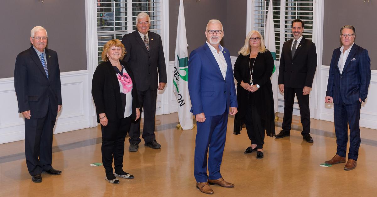 Le maire Gilles Blanchette et son équipe réélus par acclamation